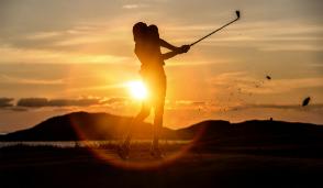Midnight golf in Iceland