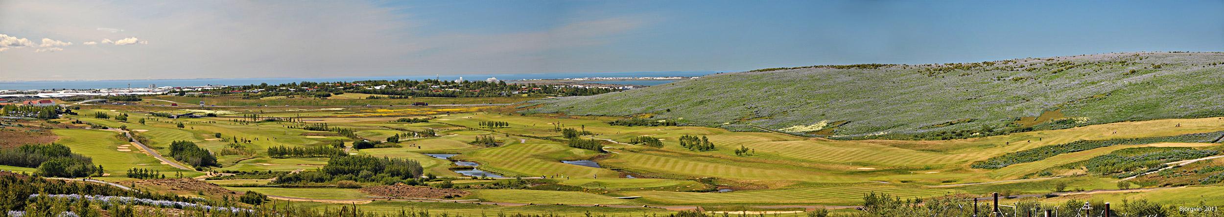 The GKG golf course